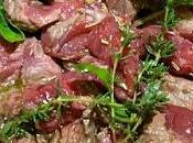 Carne rossa: Uccelletto cadea timo, erba fungo sale affumicato