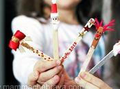 Segnalibri natalizi faidate bastoncini gelato