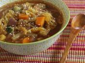 Autunno Minestrone Rustico verdure Rustic Vegetable Soup