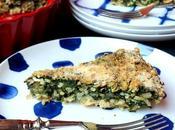 Torta riso spinaci