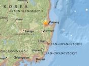 terremoto magnitudo colpito Corea