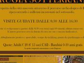 Perugia Sotterranea visite speleo turistiche Novembre