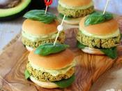 Mini burger vegani