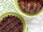 Crostatine cacao pere