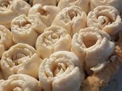 Crostata gelatina cachi cremoso alla nocciola