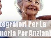 Integratori Memoria Anziani
