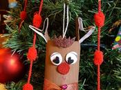 Renna Babbo Natale rotoli carta igienica