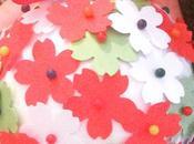 Mani imparano: fiori carta Natale