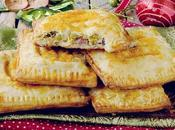Bacon, Cheddar Potatoes Pockets: Hand Pies Formaggio Cheddar, Patate Piselli