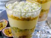 L'avvento trifle l'MTC: Trifle Frutto della Passione Crema Cioccolato Bianco Chantilly Lime
