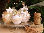 Natale Handmade: palline rivestite gomma crepla glitterata