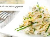 Spaghetti alla Greta noci gorgonzola