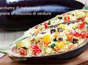 barchette melanzane ripiene couscous verdure