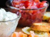 Crostini salmone affumicato