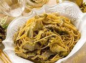 Spaghetti alla carbonara carciofi sera della Vigilia speciale