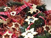 Biscotti vetro appendere all'albero Natale 2017