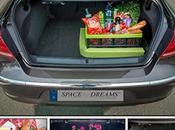 Gadget fissaggio bagagliaio auto SpaceFix