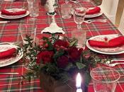 tavole delle feste Christmas' Holidays tablesettings