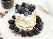 Pancake Grano Saraceno, crema Ricotta Miele Frutti Bosco