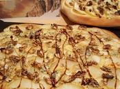 Pizza Bluedessert all'aceto balsamico, pere noci