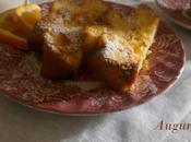pandoro tostato, nostra prima colazione nuovo anno.