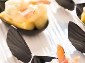 Polenta ceci, gorgonzola speck: finger food golosissimo