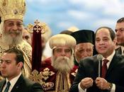 presidente egiziano Abdel Fattah Sisi festeggia Natale copti