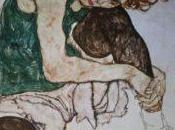 Egon Schiele, espressionista pupillo Klimt, ossessionato disegno malinconicamente disperato