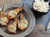 Pere forno gorgonzola, miele noci