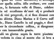 """Oneglia Albenga"""" """"Viaggio nella Liguria Marittima"""" Bertolotti (1834)"""