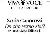 """Sonia Caporossi legge verso stai?"""", Gennaio 20:00, Libreria Assaggi, Roma"""