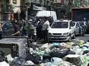 Napoli Rifiuti, blocchi stradali paralizzano Riviera Chiaia (12.05.11)