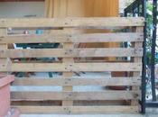 Come trasformare pallet orto verticale balcone/ turn into vertical urban garden