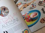Alessini colorato tavola bambini realizzato Alessi