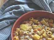 Pasta fagioli patate