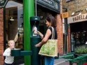 Londra: Fontane l'acqua latte vetro!