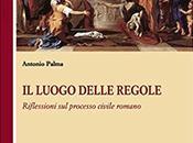 """luogo delle regole. riflessioni processo civile romano"""" antonio palma (g.giappichelli editore)"""