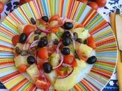 bella insalata tipica della sicilia: fantasia profumi