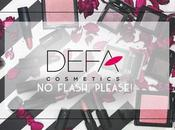 Defa Cosmetics FLASH, PLEASE! makeup swatches applicazione recensione
