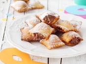 Ravioli dolci Carnevale alla Nutella
