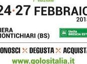Golositalia 24-27 Febbraio 2018 edizione