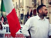 Massimo Ursino, dirigente Forza Nuova Sicilia, stato aggredito picchiato Palermo