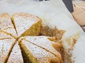 Torta senza glutine bevanda all'avena Gluten-free cake with milk