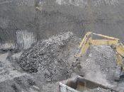 L'inizio lavori quando sono stati fatti scavi fondazioni