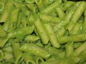 Gluten free: Penne crema piselli