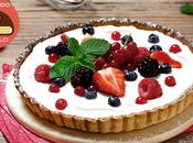 Scopri ingredienti consigli utili cucinare Dolci pasqua: Crostata Crema Mascarpone Frutti Rossi.