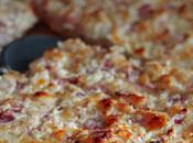 Pizza Bianca Ricotta, Salsiccia Cipolla Rossa