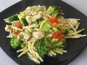Trofie broccolo, pollo pomodorini