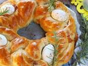Treccia farcita Pasqua