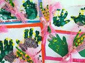 Lavoretto Festa della donna: un'idea fare bimbi piccoli